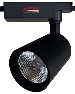 Đèn rọi ray vỏ đen thấu kính 20W