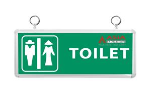 Đèn chỉ dẫn: Nhà vệ sinh