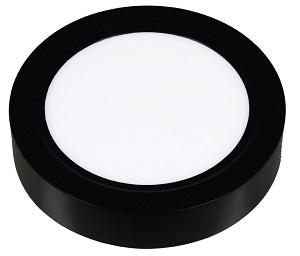Ốp nổi tròn vỏ đen 6W